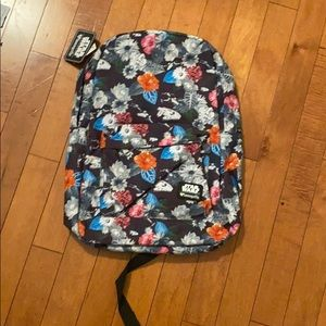 STAR WARS FLORAL LOUNGEFLY BACKPACK